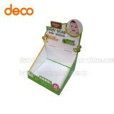 Contador de cartón de papel dúplex Expositor para supermercado