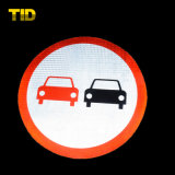 Светоотражающие дорожной безопасности дорожного движения дорожные знаки с алюминиевый лист