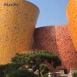 カスタマイズされた形のアルミニウム正面のパネルの壁のクラッディング