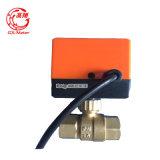 Válvula de freio elétrica de Dn15mm para o encaixe do medidor de água