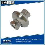 Titânio profissional do aço de carbono que faz à máquina as peças da máquina do torno do CNC
