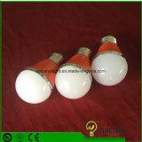 PC+d'aluminium à haute efficacité énergétique 3/5/7/9W E27 LED Lampes compactes de lumière