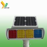 Знак безопасности дорожного движения мигает светодиод столкновения/ солнечные улицы лампа