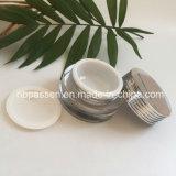 Frasco 15/20g de creme acrílico de prata popular para o empacotamento do cosmético (PPC-NEW-140)