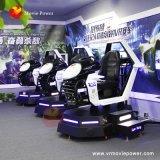 De Simulator van de Autorennen van Vr met DrijfAuto van de Werkelijkheid van de Plank van het Metaal de Virtuele