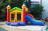 5.5*3.5*3.7m kleine federnd Häuser für Kinder, wenig aufblasbarer Schloss-Prahler für Kinder mit preiswertem Preis