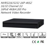 Red Recoder video 16 Poe NVR (NVR5216-16P-4KS2) de Dahua 16/32CH 1u