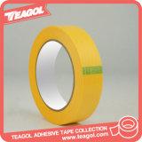Cinta adhesiva de papel industrial del Crepe natural de goma del pegamento