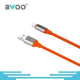 Cabo de dados do USB do relâmpago colorido o mais novo por atacado micro
