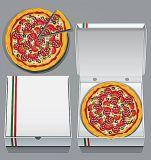 Caja de Pizza corrugado Full-Auto Gluer plegable máquina