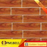 新しいデザイン無作法な陶磁器の床の木製の一見の壁のタイル(PM18012)