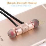 Écouteur magnétique de haute qualité de Bluetooth en métal pour l'iPhone