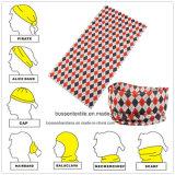 Bandana personalizzato prodotti della maschera di protezione dello Snowboard del motociclista di Microfiber alla rinfusa della fabbrica della Cina