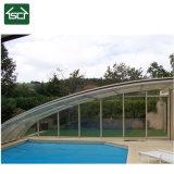Waterproof Inclinar-na tampa da piscina da parede