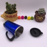 Preiswerte IsolierMicrowaveable Plastikarbeitsweg-Kaffeetassen (SH-SC13)