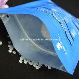 O saco de plástico com fecho zip