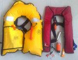 手動膨脹可能な救命胴衣二重区域の膨脹可能な