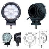 クリー族LED作業は5インチ自動12V 24V 45Wを点の洪水の光ビームとのつける
