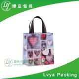 2017 sacs d'emballage non-tissés estampés d'achats de pp