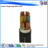 Силовой кабель PE изолированный Sheathed/XLPE высоковольтный