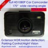 """video de la cámara del coche de 2.7 """" HD con el GPS que sigue la antena de receptor, seguimiento posterior del juego de la correspondencia de Google; rectángulo negro del coche de 5.0mega FHD1080p, leva de control que estaciona"""
