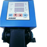 Máquina de alta presión manual de la prensa del calor de la alarma automática para la camiseta