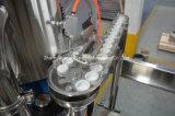 Triblock Refrescos con gas enjuagadora taponadora de llenado de la máquina