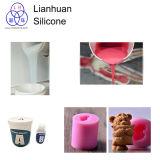 10shore ein flüssiger Silikon-Gummi für gutes, Jahr-Baby-Geburtstag-Kerze-Silikon-Form gießend