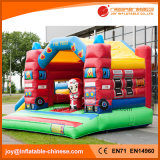 2017 Inflatable Moonwalk Fire Jumping videur de travail avec la diapositive (T3-024)