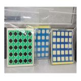 Escritura de la etiqueta cambiante del color sensible de la calefacción del control de la temperatura