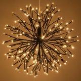Les lumières flexibles de chaîne de caractères de DEL, 100 ampoules de DEL imperméabilisent les quirlandes électriques extérieures