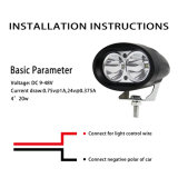 Bestes verkaufenarbeits-Licht der auto-Zubehör-4inch des Gabelstapler-20W LED