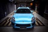 Vinile libero dell'involucro dell'autoadesivo dell'automobile della bolla blu azzurrata