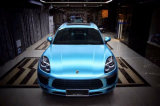 Azurblaue blaue Luftblasen-freies Auto-Aufkleber-Verpackungs-Vinyl