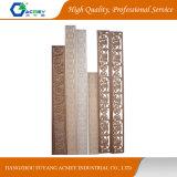 Moldura de madera tallada sólido para la decoración de interiores