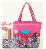 Madame piquée Handbag de sacs à main de femmes de sac de tissu