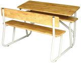 رخيصة ثابتة مزدوجة طالب مكتب وكرسي تثبيت ([سف-34د])