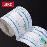 Étiquettes directes de logistique d'étiquettes d'expédition d'usine de fonte d'étiquette -adresse de papier sensible thermique chaud de desserrage