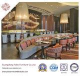 Gaststätte-Möbel mit Gewebe-Gaststätte-Stuhl und Tisch (neues C)