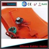 Estera roja de la calefacción del caucho de silicón del poder más elevado 1200W