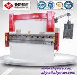 Máquina de dobra inoxidável da chapa de aço