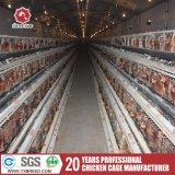 Um tipo 4 Camadas da gaiola de camada de frango para a Granja Turquia