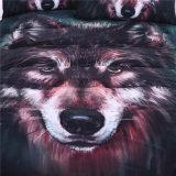 3D druckte Wolf-Bettwäsche-gesetzte Polyester-Bettwäsche
