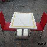 Tabella bianca 170104 del ristorante dello spaccio di bevande della pietra artificiale del quarzo