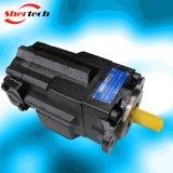 기업 응용 (shertech, Parker Dension T6CCW)를 위한 유압 조정 진지변환 두 배 바람개비 펌프 T6 Serie T6ccw