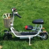 2018 Foling Mini Scooter elétrica barata com assentos duplos