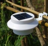 PMMA ALUMINIO LED Solar valla la luz con IP44.