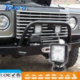 indicatore luminoso automatico quadrato dell'automobile della lampada LED di 4inch 24W LED