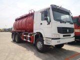El vacío de 16000 litros 20ton 336CV Sinotruk HOWO 4X2 Camiones de aspiración de aguas residuales