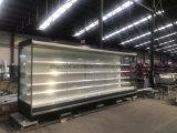 Showcase Refrigerated dianteiro aberto longo de 12FT com as extremidades de vidro transparentes